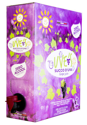 Succo d'Uva in bag in box